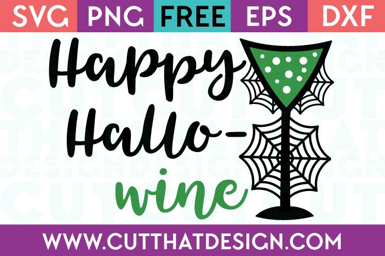 Free SVG Files Happy Hallo-Wine