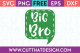 Free SVG Files Big Bro Speech Bubble