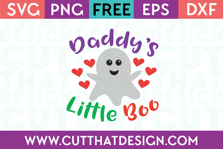 Free SVG Files Daddy's Little Boo