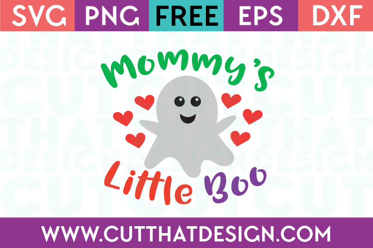 Free SVG Files Mommy's Little Boo