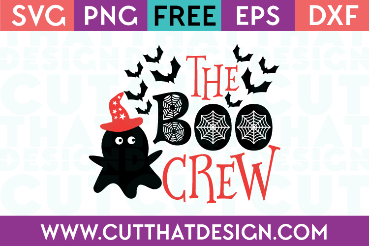 Free SVG Files The Boo Crew
