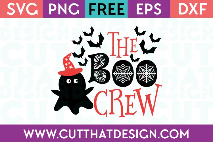 Free SVG Files The Boo Crew