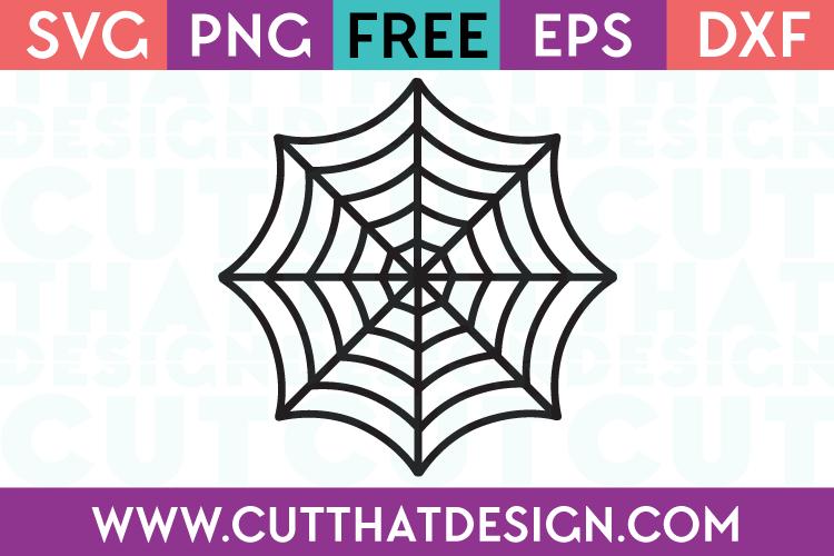 Free SVG Files Halloween Spiders Web