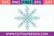 Free SVG Files Christmas Snowflake Design