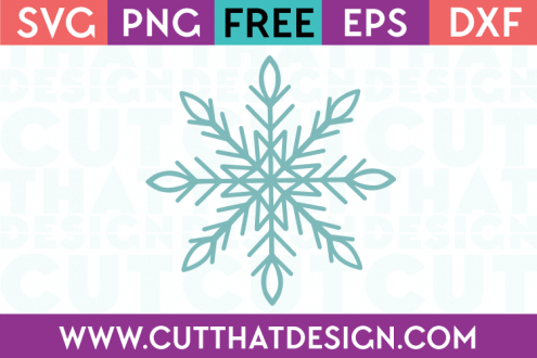 Free SVG Files Christmas Snowflake Design