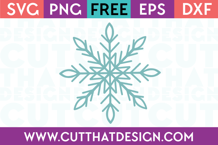 Free Svg Files Snowflake Design Cut That Design