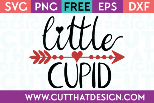 Free SVG Files Little Cupid