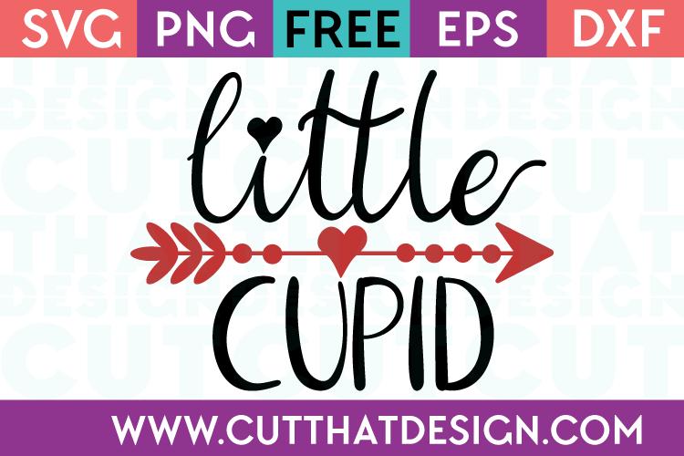 Free SVG Files Little Cupid