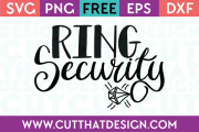 Free SVG Files Ring Security