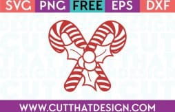 Free SVG Files Candy with Holly