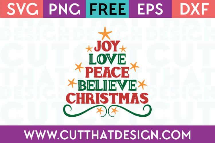 Free SVG Files | Christmas Tree