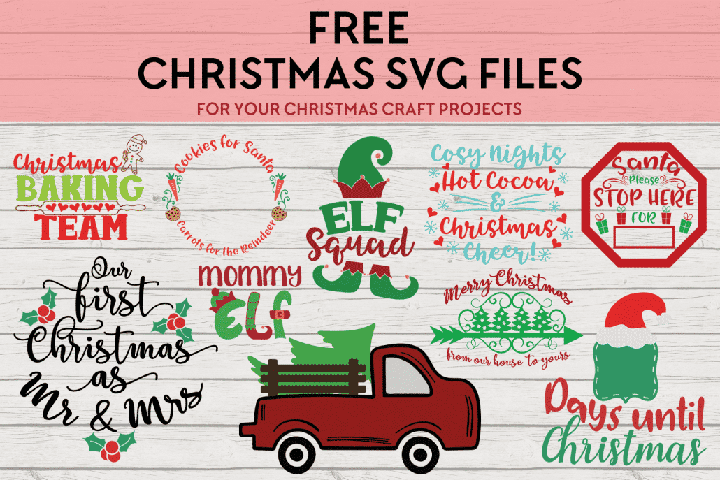Days Until Christmas Svg Free.Free Svg Files Our Favorite Free Christmas Craft Cutting