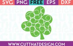 Free Cut Files Flourish Shamrock Design 2