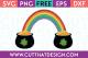 Free Cut Files Rainbow Pot of Gold