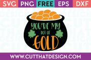 Free Cut File Your my pot of gold SVG