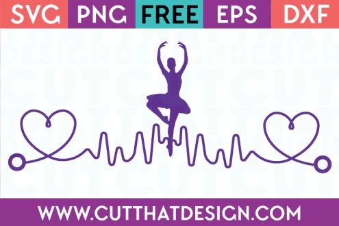 Free Files Silhouette Cameo Ballerina