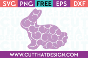 SVG Bunny Flourish Pattern