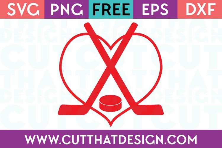 Free SVG Cut Files Sports Hockey