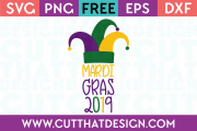 Free Cutting File Downloads Mardi Gras