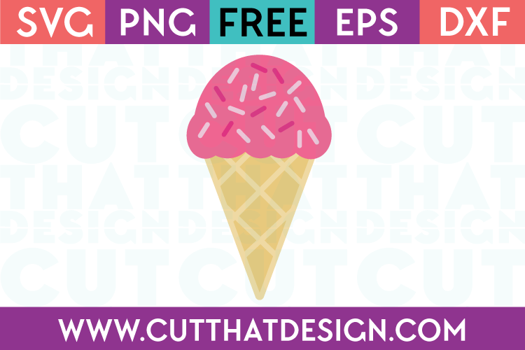 Free SVG Ice Cream File