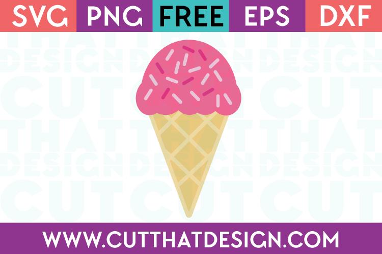 Free SVG Ice Cream File