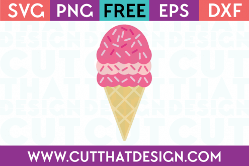 SVG Ice Cream Free File