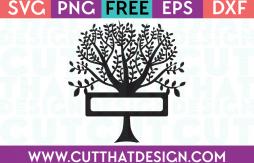 Free SVG Cutting Files Tree Design