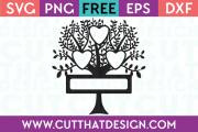 Free Family Tree Cut Files SVG