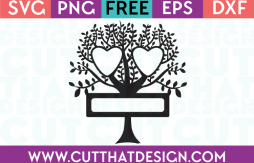 Free Cut Files Family Tree Design