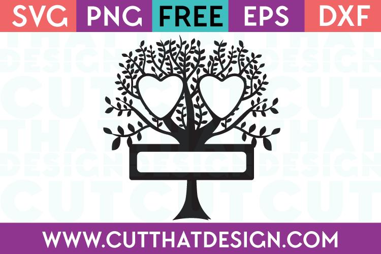 Free Cut Files Family Tree Design