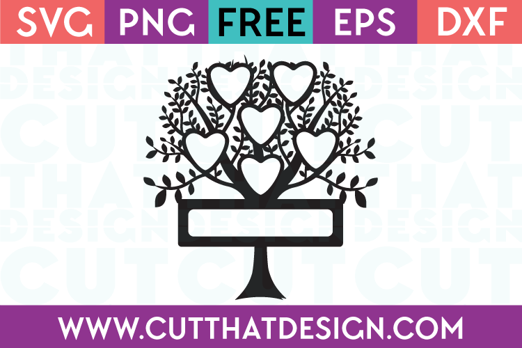 Free Cutting Files Family Tree