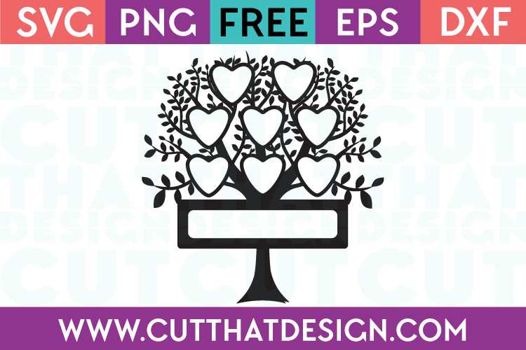 Free SVG Family Tree