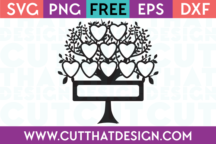 SVG Cutting Files Free Family Tree Download
