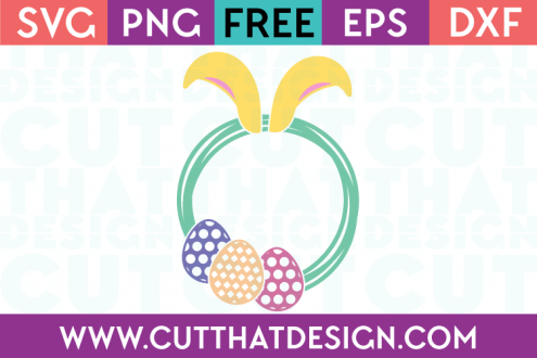 Free Easter SVG Bunny Ears