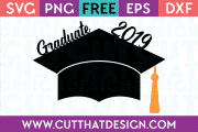 Free SVG Graduation Cap