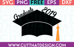Free SVG Graduation Cap