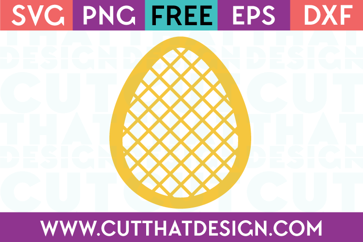 Free SVG Cut Files Easter Designs