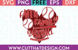 Free Baseball SVG Files