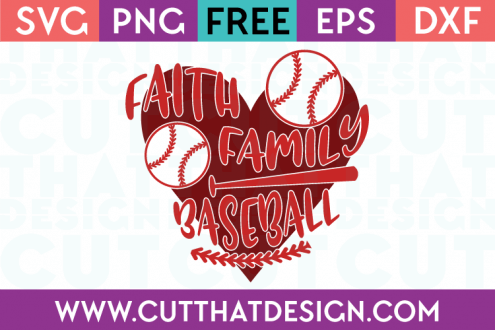 Free Baseball SVG Files