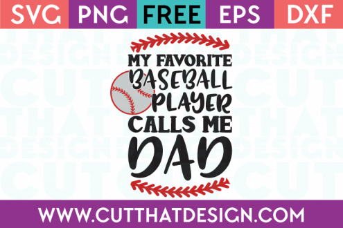 Free Baseball SVG Cut Files