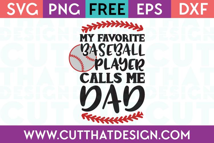 Free Baseball SVG Cut Files
