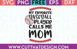 Baseball SVG Files Free