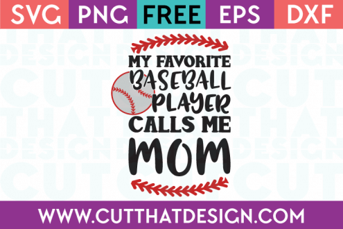 Baseball SVG Files Free