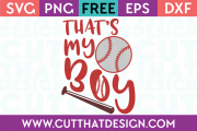 SVG Files Free Baseball Designs