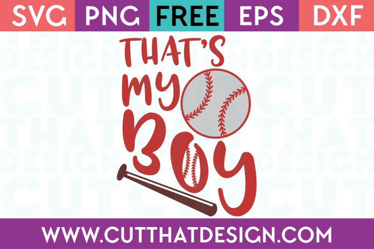 SVG Files Free Baseball Designs
