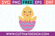 Free Chick SVG File
