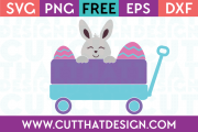 Free Easter Little Wagon SVG