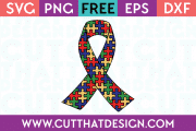 Free SVG Autism Awareness