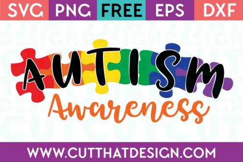 Autism Awareness SVG Free