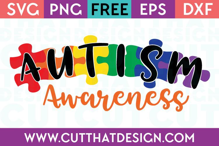 Autism Awareness SVG Free